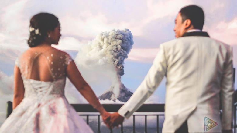 الحب ينتصر رغم انفجارات براكين العالم.. بكل ما تحمله الكلمة من معنى!