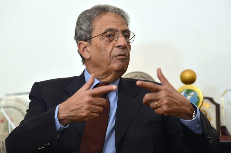 """عمرو موسى يتوقع فوز السيسي """"بغالبية مريحة لقيادة"""" مصر"""
