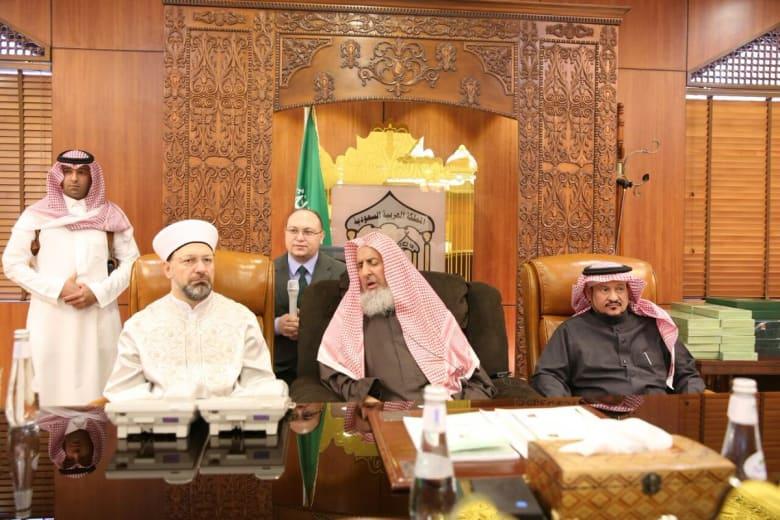 مسؤول ديني تركي لمفتي السعودية: لنحذر دعاة الفتنة بين بلدينا