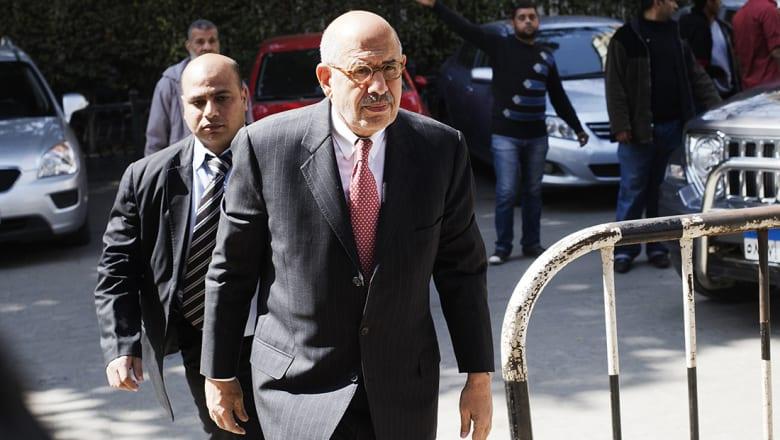 البرادعي: أملي أن تكون معاركنا الوحيدة بالعالم العربي فكرية