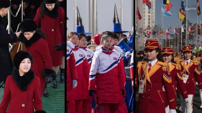 شاهد.. 5 لقطات نادرة للكوريتين وأمريكا في أولمبياد بيونغ تشانغ