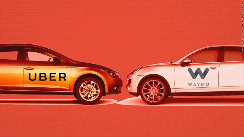 """""""وايمو"""" و""""أوبر"""" تتوصلان لتسوية قضائية بمجال السيارت ذاتية القيادة"""