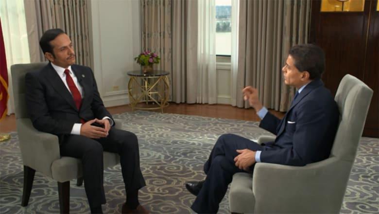 وزير خارجية قطر لـCNN: لسنا ودودين تجاه إيران