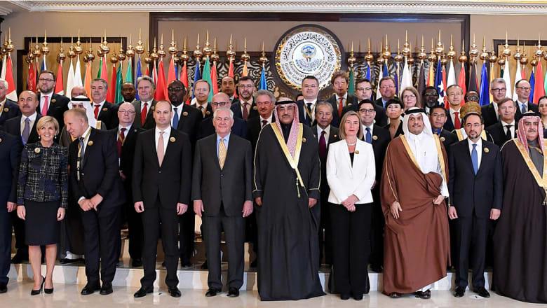 وزراء خارجية التحالف ضد داعش: 4 ركائز بنهج محاربة التنظيم