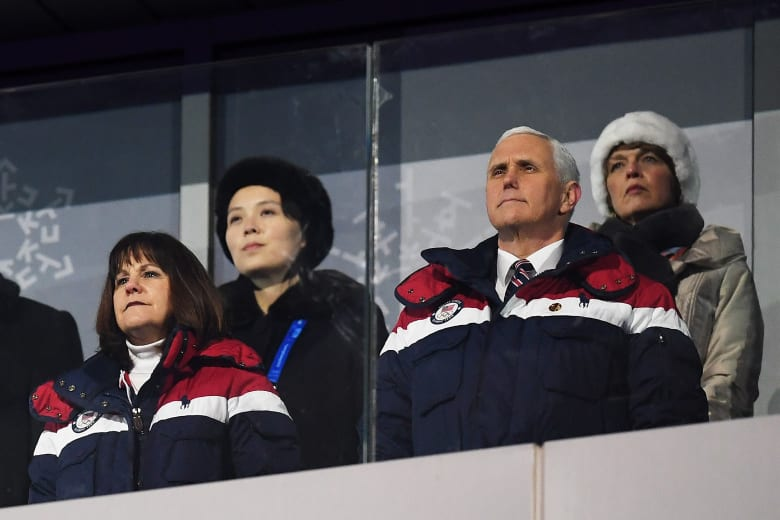 مايك بنس: تجاهلت متعمداً شقيقة كيم جونغ أون في الأولمبياد