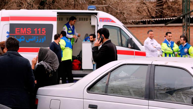 إيران تعلن العثور على حطام الطائرة المنكوبة