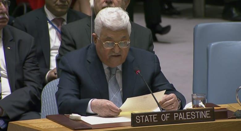 عباس أمام الأمم المتحدة: لم نرفض التفاوض وبثمن دبابة تبنى مدرسة