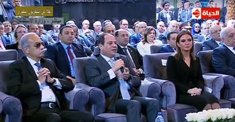 """السيسي للمصريين حول قضية استيراد الغاز من إسرائيل: """"جبنا جول جامد جداً"""""""