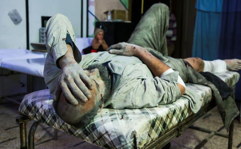 أطباء بلا حدود: 770 قتيلاً وأكثر من 4 آلاف جريح بالغوطة خلال 10 أيام