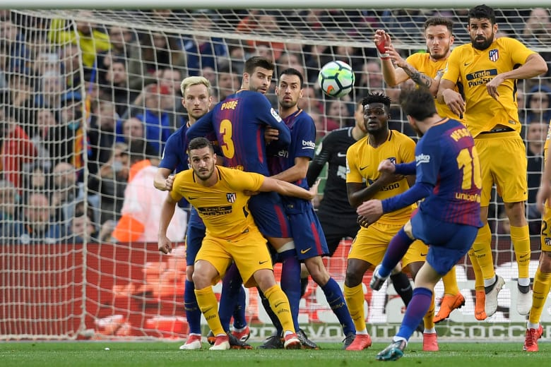 ميسي يسجل هدفه رقم 600 وبرشلونة يضع يدا على لقب الدوري
