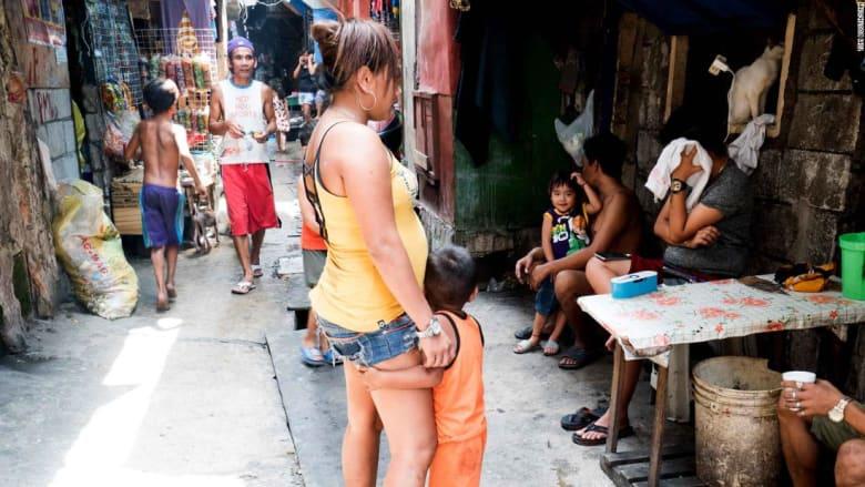 إنجاب الأطفال غير مرغوب فيه..وسط فقر منتشر في الفلبين