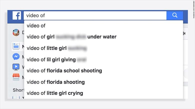 """""""فيسبوك"""" تعتذر بعد إظهار اقتراحات لاستغلال الأطفال جنسياً عبر محرك البحث"""