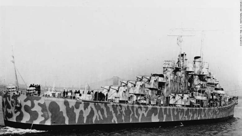 شاهد.. اكتشاف حطام سفينة حربية أمريكية غرقت في الحرب العالمية الثانية