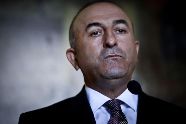 """مولود جاويش أوغلو: جميع المناطق التي يوجد بها تنظيم """"ي ب ك/ بي كا كا"""" هي هدف مشروع لتركيا"""