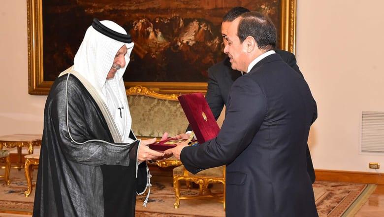 السيسي يمنح السفير السعودي وشاح النيل.. وقطان: مصر ستظل في القلب والوجدان