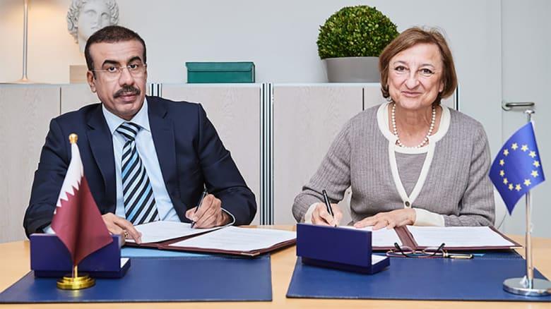 قطر توقع اتفاقية مع المجلس الأوروبي تحضيرا لاستضافة مونديال 2022