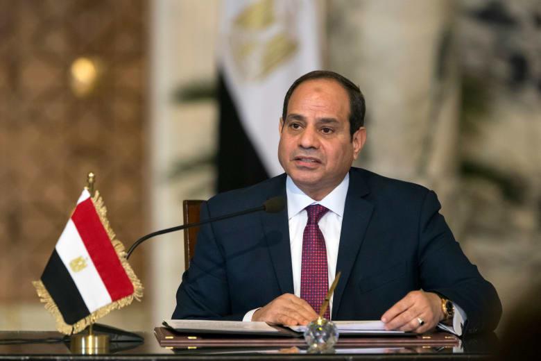 السيسي للمصريين بأول كلمة بعد فوزه بالانتخابات: عاقد العزم على تحقيق التنمية والاستقرار