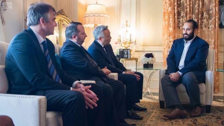 """راني رعد يعبر عن إعجابه بـ""""إلمام ولي عهد السعودية بتفاصيل صناعة الإعلام"""""""