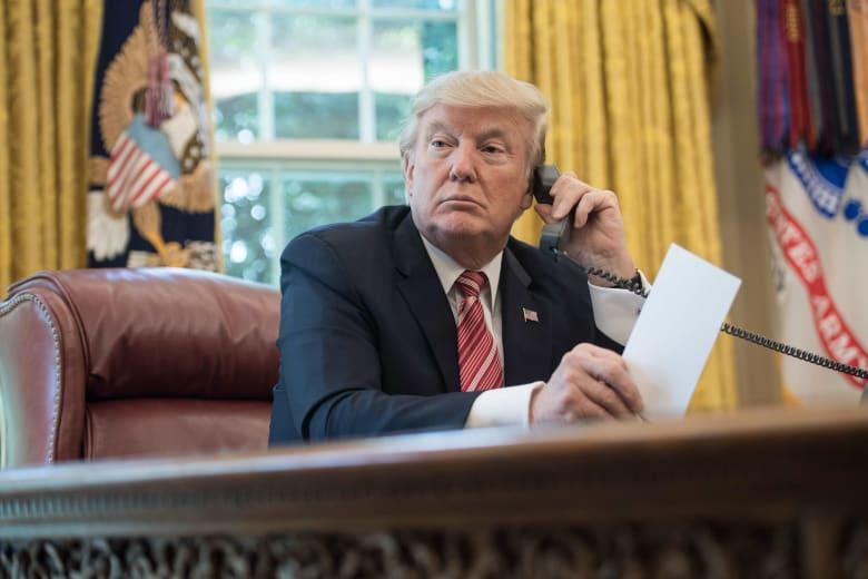 ما الذي ناقشه ترامب بمكالمتين مع ملك السعودية وأمير قطر؟