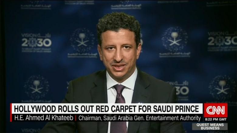 رئيس هيئة الترفيه السعودية لـCNN: مجتمعنا منفتح جدا ومدننا الكبرى ستصبح مثل أي مدن عالمية