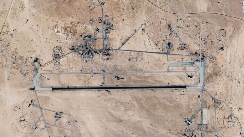 """روسيا وسوريا تتهمان إسرائيل بقصف قاعدة """" تيفور"""" الجوية بحمص"""