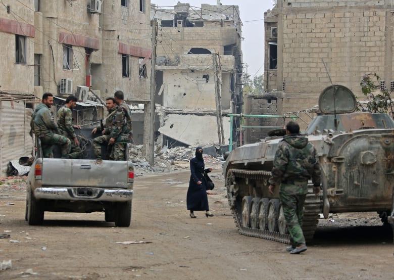 """سوريا توجه دعوة لفريق دولي لبحث """"الاستخدام المزعوم للأسلحة الكيماوية في دوما"""""""