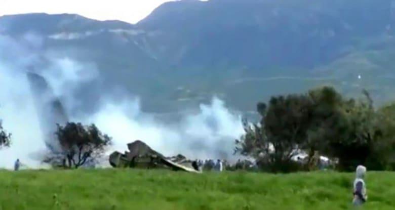 257 قتيلا في حادث تحطم الطائرة العسكرية الجزائرية