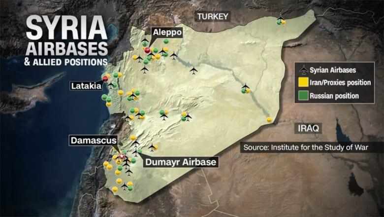 محلل الشؤون العسكرية بـCNN: النظام السوري وروسيا يعيدان تمركزهما الدفاعي