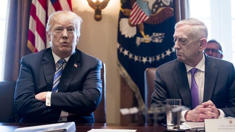 مصادر لـCNN: قادة الجيش الأمريكي حذروا ترامب من ضرب سوريا