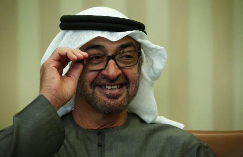 محمد بن زايد يحتفل بفوز مانشستر سيتي بلقب الدوري الإنجليزي