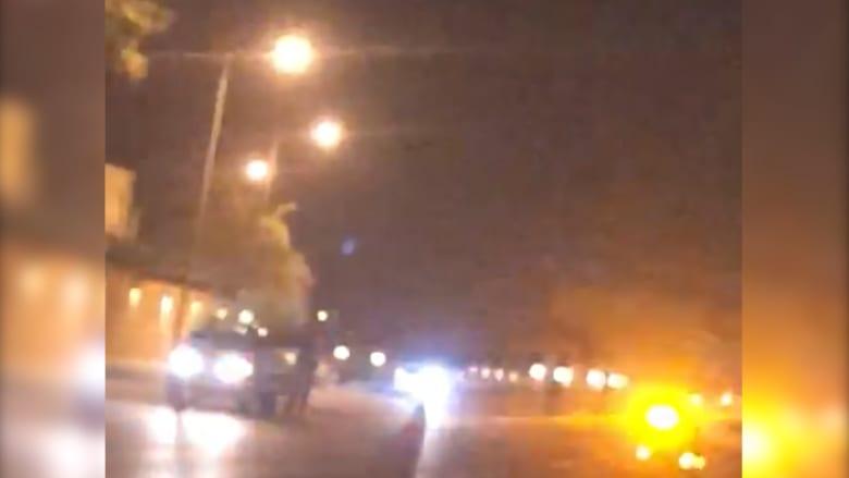 هذا هو صوت إطلاق النار بمنطقة القصور الملكية السعودية