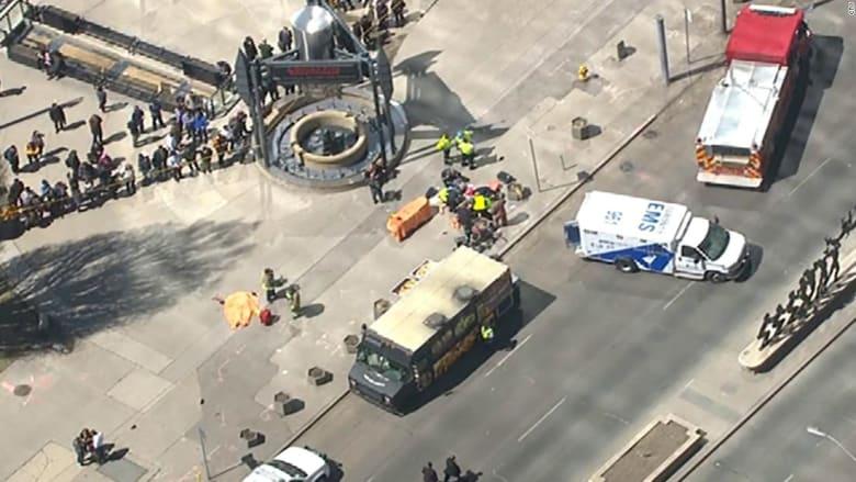 الشرطة الكندية: إصابات في حادث دهس بمدينة تورونتو