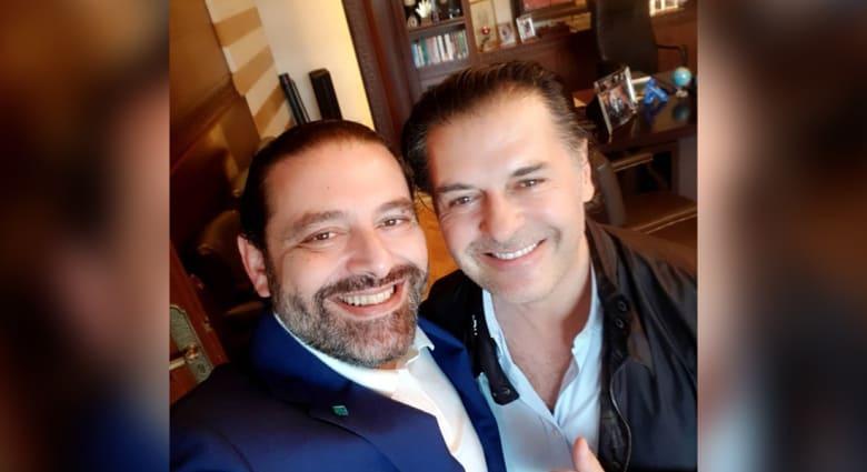 ما سر زيارة راغب علامة لمنزل رئيس الوزراء اللبناني سعد الحريري؟