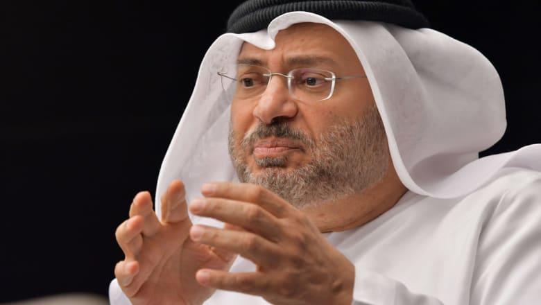 قرقاش: بعض مسؤولي الحكومة اليمنية يقارن الدور الإماراتي بالإيراني