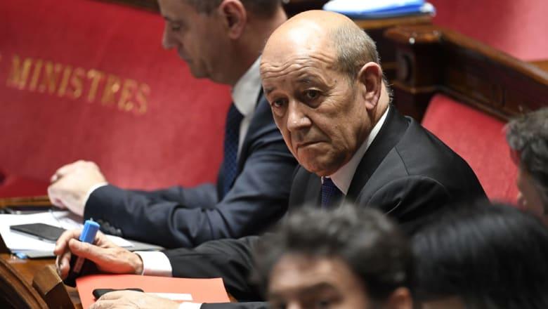 """وزير خارجية فرنسا: إيران تخاطر في اللعب بـ """"الخط الأحمر"""""""