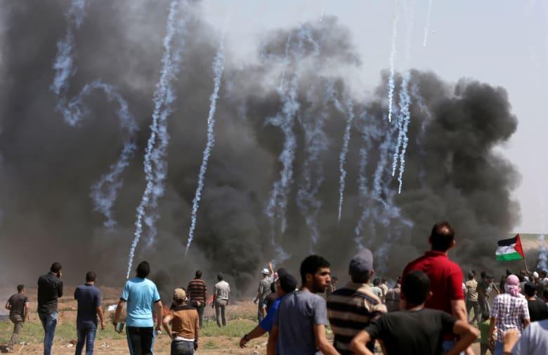 مقتل 4 فلسطينيين في مواجهات مع الجيش الإسرائيلي بغزة