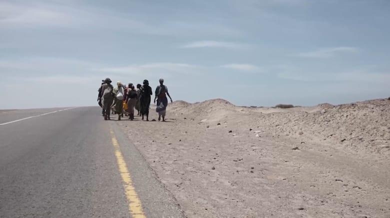 حصرياً علىCNN.. رحلة المهاجرين من القرن الأفريقي إلى اليمن