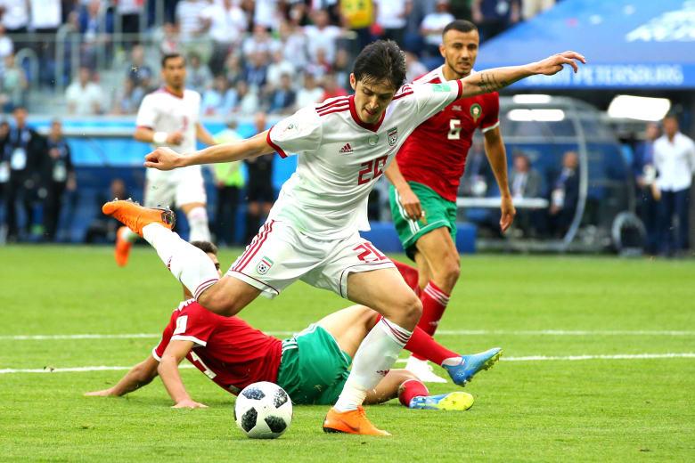 بنفس سيناريو مصر.. المغرب يخسر أمام إيران ويُحبط آمال جماهيره