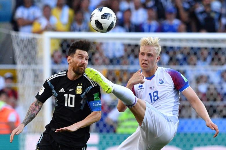 أيسلندا تحرج الأرجنتين في أولى مبارياتها بالمونديال عبر التاريخ