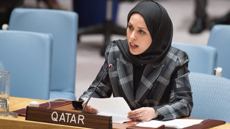 """قطر تستنكر """"الحصار الجائر"""" في مجلس الأمن وتدعو للحوار"""