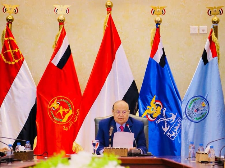 الرئيس اليمني: استئصال أخطر مشروع إيراني توسعي هدف اقترب تحقيقه