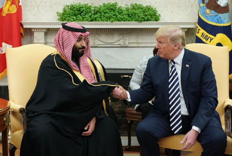 """""""أمن واستقرار المنطقة"""" يتصدر اجتماع ولي العهد السعودي ومبعوث ترامب"""