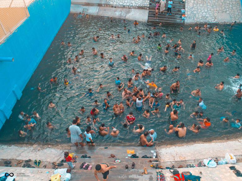 عيون الأحساء..هنا يسبح السعوديون في فصل الصيف