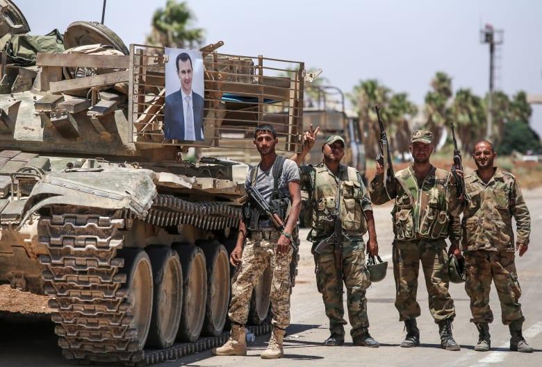 هجوم إسرائيلي على القنيطرة والجيش السوري يتصدى