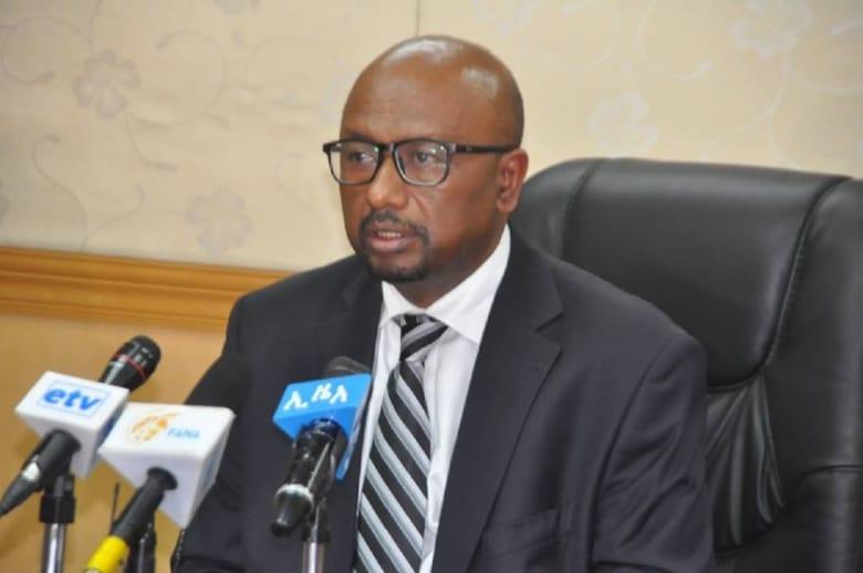سلشي بقل وزير المياه والكهرباء الإثيوبي