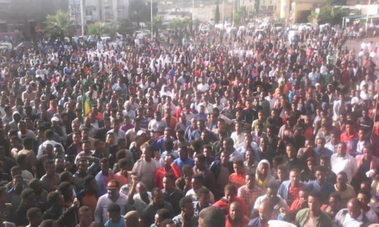 مظاهرات في إثيوبيا للمطالبة بسرعة القبض على الجناة في مقتل مدير مشروع سد النهضة