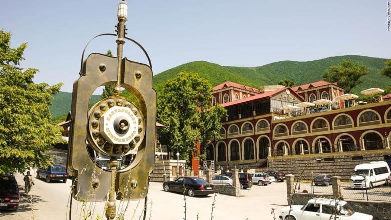 اختبر حياة تجار طريق الحرير في هذا الفندق الأذربيجاني