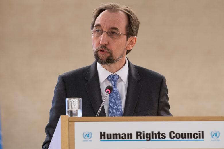زيد بن رعد: تعرضت لضغوط من دول ولكن ضغط انتهاكات حقوق الإنسان أكبر