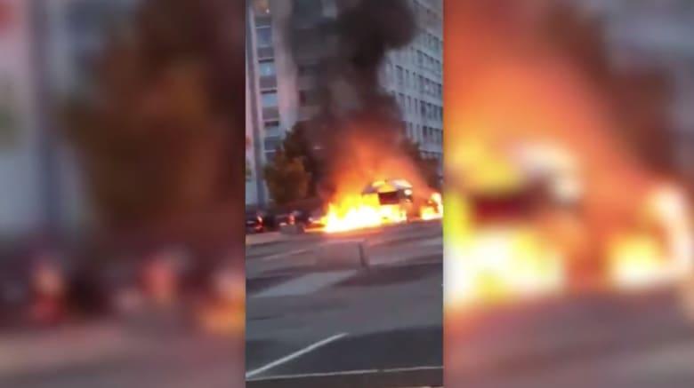 إحراق عشرات السيارات في عدة مدن بالسويد