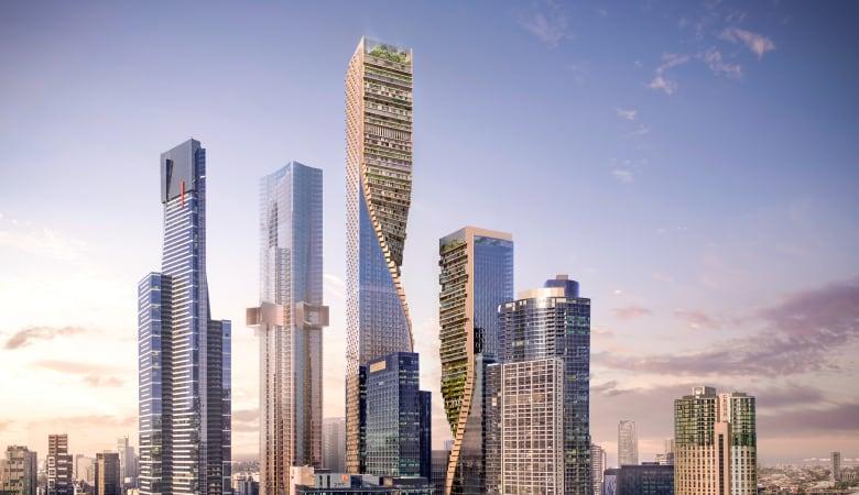"""مبنى بـ""""حدائق معلقة"""".. هل سيصبح الأطول في أستراليا؟"""